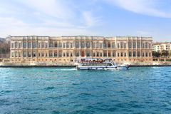 Ciragan Palace in Istanbul, Turkey Royalty Free Stock Photography
