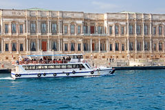 Ciragan Palace in Istanbul, Turkey Stock Photos