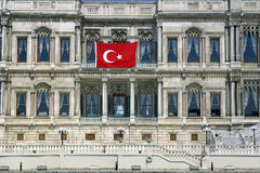 Ciragan Palace Kempinski Istanbul Royalty Free Stock Photo