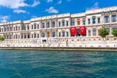 Ciragan Palace Royalty Free Stock Images