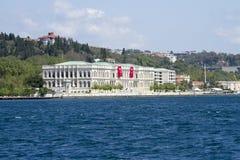 ciragan Palast, Istanbul-Straße, Truthahn lizenzfreie stockfotos