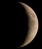 Cirage de la lune en croissant Photo libre de droits