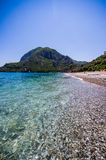 Cirali Beach 2. A picture of cirali beach on a clear sunny day Royalty Free Stock Photography