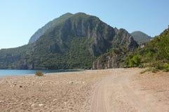 Cirali Beach, Turkey stock photo