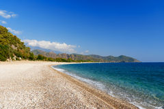 Cirali beach. Turkey Stock Image