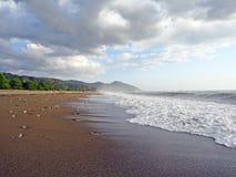 Cirali plaża przy Olympos, Lycian sposób, morze śródziemnomorskie, Turcja obrazy stock