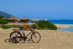 Cirali Plaża, Turcja Zdjęcia Royalty Free