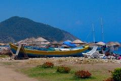 Cirali strand, Turkiet Arkivfoton