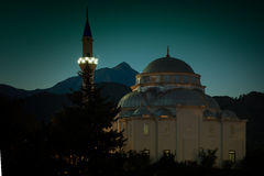 Cirali, Turkey - September 10th 2013: Local Cirali Mosque at nig Stock Images
