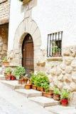 Cirauqui, Spain Foto de Stock