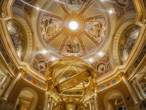 Circa 2017 el hotell veneciano del palazzo en Las Vegas Nevada imagenes de archivo