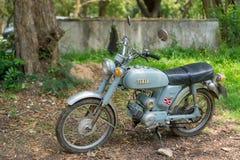 Circa mittleren 1960 klassisch und Weinlese Yamaha-Motorrad von Japan lizenzfreie stockfotografie