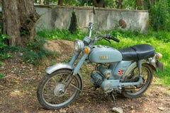 Circa mittleren 1960 klassisch und Weinlese Yamaha-Motorrad von Japan stockbilder
