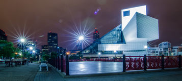 CIRCA 2014 - This is the Rock & Roll Hall of Fame and Museum at Stock Photo
