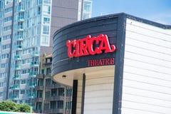 Circa teatro Imagen de archivo libre de regalías