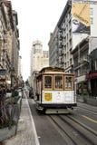 """Circa 2016 van San Francisco, Californië, Verenigde Staten †""""- Marktstraat en de Werf San Francisco Cable C van Powell Fisherma stock afbeeldingen"""