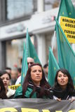 Circassian Activist Group Stock Photos