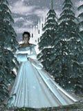 circe χιόνι βασίλισσας νυμφών διανυσματική απεικόνιση