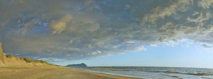 Circeo beach Stock Photo