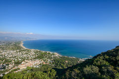 The Circeo Landscape Royalty Free Stock Image