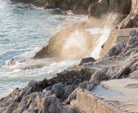 Circeo, vista panoramica del porto Fotografia Stock Libera da Diritti