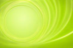 Circl verde astratto della tempesta di energia di potenza della priorità bassa Immagini Stock