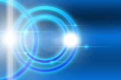 Circle abstract background. Technology concept Stock Photography