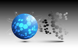 Circle abstract background. EPS 10 Vector Royalty Free Illustration