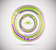 Circle abstract background Royalty Free Stock Images
