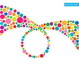 Circle abstract colorful background Royalty Free Stock Photo