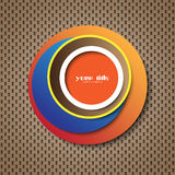 Circle abstract cover / icon Stock Photography