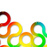 Circle abstract design Stock Images