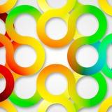 Circle abstract design Stock Photos