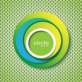 Circle abstract icon Stock Photography