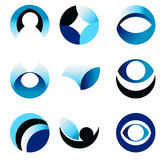 Circle abstract icon Royalty Free Stock Images