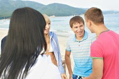 Circle of acquaintance Stock Photography