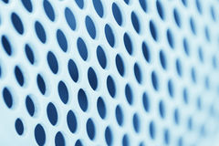 Circle Air Hole Airduct Pattern Stock Image