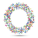 Circle from Application Icons Royalty Free Stock Image