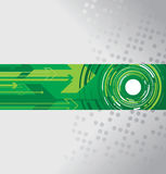 Circle and arrow background Royalty Free Stock Images