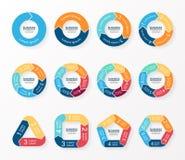 Circle arrows infographics, diagram, graph. Stock Photography