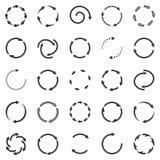 Circle arrows Stock Photography