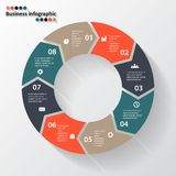 Circle arrows for your info graphic Stock Photo
