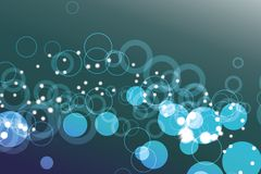 Circle Background. Abstract background blue and white circle Royalty Free Illustration
