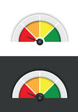 Circle background. A circle colourful pie chart segment background Stock Photography