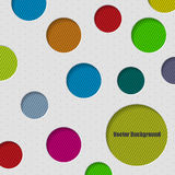 Circle background design with Stock Images