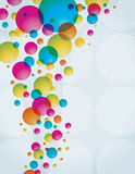 Circle Background. An illustration of circle shaped abstract background Royalty Free Stock Photo