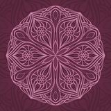 Circle background. Ornamental round lace. circle background Royalty Free Stock Photos