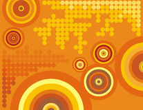 Circle background series stock illustration