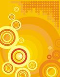 Circle background series stock images