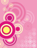 Circle background series Royalty Free Stock Photography